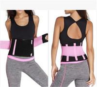 forma de forma fina venda por atacado-Unissex Trainers cintura para as Mulheres Homens cinto Cincher Trimmer Slimming Body Shape Sports ajustável Belt Corpo Shaper Hot Sweat Shapewear
