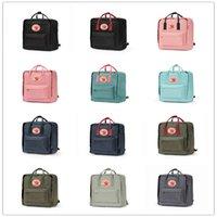 sacolas impermeáveis para escola secundária venda por atacado-Mochila Clássica Raposa Do Ártico Sueca Crianças E Mulheres, Saco De Design De Estilo De Moda Lona À Prova D 'Água Escola Fjallraven - Kanken Bags