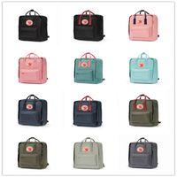 klasik kadın sırt çantası toptan satış-İsveç Arctic Fox Klasik Sırt Çantası Çocuklar Ve Kadınlar, moda Stil Tasarım Çanta Ortaokul Tuval Su Geçirmez Fjallraven-Kanken Çantaları