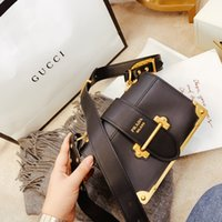 Wholesale shoulder sling bag leather resale online - 2020 Brand fashion womens real Leather classic PRD Micro Cahier Saffiano bags shoulder bags slung handbag Luxury designer Crossbody handbags