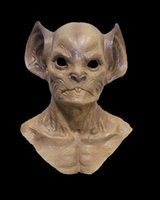 Wholesale mask horror zombie resale online - New Arrival High Quality Deluxe Halloween Carnival Costum Latex Scary UFO Mask Horror Alien Full Head Mask Zombie Ghost Alien Head mask