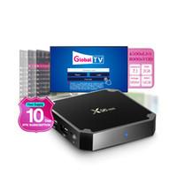 tv de suprimento grátis venda por atacado-Fornecimento gratuito de dez dias Serviço IPTV Global Hot Europa IPTV Assinatura 4500 + Vivo e 8000 + VOD Android TV CAIXA 2G 16G