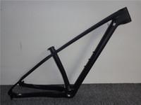 гарнитура из углеродного волокна оптовых-рамы mtb карбон 29 рамы для горных велосипедов размер 15/17/19 в наличии рамы mtb bsa с гарнитурой и зажимом