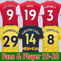 joueur à domicile achat en gros de-Arsenal 19 20 maillot de football 2019 2020 arsenal fc maillot de football AUBAMEYANG ÖZIL TORREIRA LACAZETTE MKHITARYAN XHAKA HENRY KOSCIELNY BELLERIN