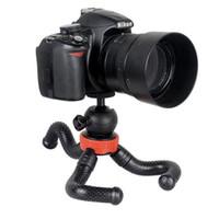 tripé flexível dslr venda por atacado-Pequena perna curta Mini Octopus Tripé Flexível, Tripé de Câmera Do telefone Móvel Tripé de telefone celular dslr Para iPhone DSLR Camera