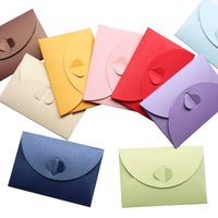 Wholesale invitations pearls for sale - Group buy pieces cm Colorful Vintage Envelope Pearl Paper Envelopes Gift Greeting Card Invitation Card Letter Envelopes