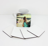 sublimation coaster for customized gift MDF Coasters for dye sublimation square shape hot transfer printing