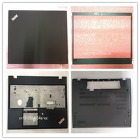 lenovo laptop lcd großhandel-Neues originales Lenovo Thinkpad T580 P52s LCD-Gehäuse hinten / LCD-Rahmenrahmen / Handballenauflage / Bodenunterseite 01YU625 01YR480 01YT267