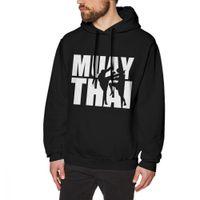 thai heißer mann großhandel-Muay Thai Sweatshirt Männer Qualität Homme Langarm Oansatz Modische Populäre Heiße Slae