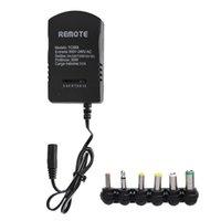 ingrosso spina regolabile-Caricatore standard per caricabatterie AC AC standard universale 3.0A 30W US Plug 6 Caricabatterie regolabile per corrente 3V4.5V6V7.5V9V12V 30W
