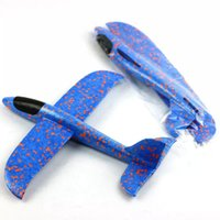 Wholesale launch adapter resale online - Hand throw airplane EPP Foam Outdoor Launch Glider Plane Kids Toys cm Interesting Launch Throwing Inertial Model Gift funny