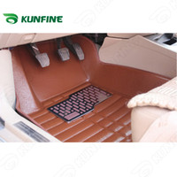 Wholesale 3d car floor mats for sale - Group buy 3D car floor mat for Fluence Latitude Koleoscar foot pad colors Left hand driver drop shipping