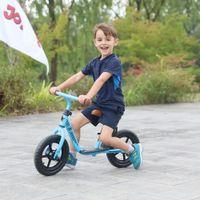 niños montando bicis al por mayor-Joystar Kids Balance Bike Envío gratuito 10/12 pulgadas Los niños aprenden a caminar Viajan en juguetes con reposapiés durante 6 meses a 2 años Niños
