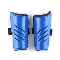 Wholesale 1 Pair Leggings Calf Band Running Shin Guard Twill Men Children Sports Brace Leg Protector Pads Adult Soccer Training