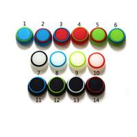 Wholesale joystick rubber ps4 grips resale online - 14 Colors Joystick Cover For PS3 PS4 XBOX ONE XBOX Controller Rubber Silicone Joystick Cap Thumb Stick Joystick Grip Caps
