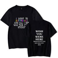 letras de la camisa al por mayor-Hombre del diseñador camisetas de diseño de verano Cartas mundo de la impresión Manga corta camiseta Tops Ropa