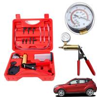 насос тестера оптовых-Ручной вакуумный насос давления тестер Комплект тормозной жидкости Bleeder Кровотечение Kit + Box