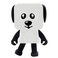 bluetooth de vários alto-falantes venda por atacado-DHL 2018 Mini Bluetooth Speaker inteligentes oradores Dança brinquedo do cão novo multi Altifalantes portáteis de Bluetooth brinquedos Altifalante presente criativo