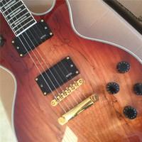 ingrosso marche della chitarra della porcellana-FREE SHIPPING + LP + CUSTOM marchio OEM CHITARRA ELETTRICA + GUITAR IN CINA chitarre