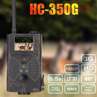 Wholesale sms security cameras for sale - Trail Camera Night Vision Deer Cam Design for Wildlife Monitoring and Home Security WCDMA CDMA2000 MMS SMTP FTP SMS TIMELAPSE