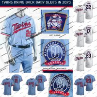 Wholesale baseball jerseys resale online - Minnesota th Season NK Twins Jersey Eddie Rosario Jorge Sano Nelson Polanco Miguel Kepler Byron Cruz Max Buxton Mitch Garver