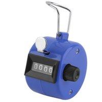 ingrosso contatore numerico manuale-1Pc Golf Handheld Manual 4 cifre Numero Tally Counter Clicker Spedizione gratuita Hot drop shipping in tutto il mondo