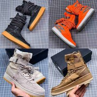 weben stiefel großhandel-Designer Sneaker Special Field x Forced Sneaker Schuhe Stiefel Weave Multi Color Run Utility Schwarz Fashion Brand Stiefel Freizeitschuhe 36-45