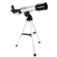 binóculos visionários venda por atacado-F36050M Telescópio Astronômico Monocular Ao Ar Livre Com Tripé Spotting 360 / 50mm binóculos astronomia profissional visionking zoom