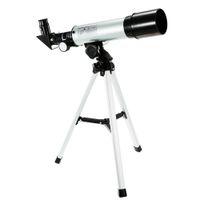 telescopios de astronomia al por mayor-F36050M Telescopio astronómico monocular al aire libre con trípode Spotting 360 / 50mm binoculares astronomía zoom visionking profesional