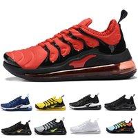 ingrosso scarpe da tennis ultra-Nike Air VaporMax Plus TN 720 Top Cheap Womens Mens Scarpe Rainbow di verde TN Ultra Caushion aria Sport Requin scarpe da tennis scarpe da corsa 36-46