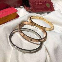 orjinal marka toptan satış-Lüks tasarımcı takı bayan bilezikler elmas aşk charm bilezik braccialetto di lusso sepeti marka bileklik Pulseira de luxo orjinal kutusu