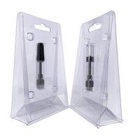 виды снарядов оптовых-Новейшая 0,5 мл 1,0 мл прозрачная блистерная упаковка Clam Shell для большинства видов 0,5 мл 510 нитевидных масляных картриджей