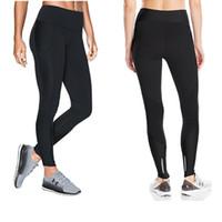 Wholesale women fur leggings online - S XXL Women Stretchy Leggings U A Sports Jogging YOGA Pants High Waist Skinny Tights Amour Push Up GYM Workout Trousers Track Pants C42305