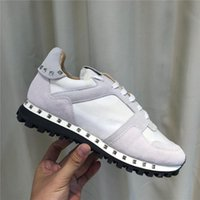 Wholesale camo shoes for sale for sale - Group buy Original Box camo suede studded camouflage rock runner sneaker shoes for women men stud casual cheaper sale EU36 L14