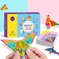 Wholesale books toys resale online - 152Pcs set DIY Educational Origami Paper Cutting Book Crafts Children Handmade Toys Kindergarten Fun Puzzle Baby Kids Toy Gifts T200401