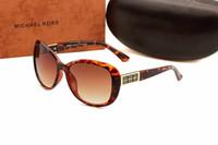 gespiegelte rosa gerahmte sonnenbrille großhandel-[Mit Box] 1 stücke Hohe Qualität Mens Womens Designer Sonnenbrillen Pilot Sonnenbrille Gold Rahmen Bunte Flash Rosa Spiegelglaslinsen