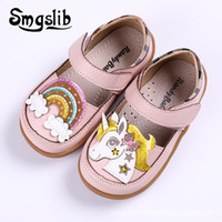 Wholesale little princess shoes for sale - Group buy Girls Shoes Children Princess Party Toddler Little Girls Genuine Leather Insole Mary Jane Kids Dance Pink Casual Shoes