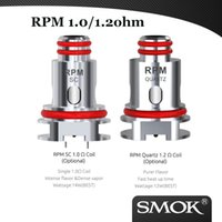 Wholesale SMOK RPM40 Replacement Coils Mesh ohm Quartz ohm SC ohm Triple ohm coil compatible with SMOK RPM Kit