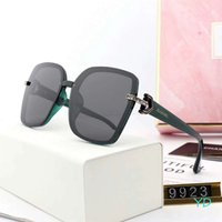 schöne sonnenbrille großhandel-Schöne frauen designer sonnenbrille luxus sonnenbrille adumbral brille marke uv400 sonnenbrille modell 9923 5 farben hohe qualität mit box
