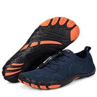zapatos rapidos al por mayor-La venta caliente-agua del verano zapatos de los hombres sandalias de la playa Aguas arriba de la aguamarina zapatos de hombre Quick Dry River Mar Zapatillas Calcetines Submarinismo Piscina Tenis Masculino