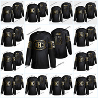 Wholesale 13 Max Domi Golden Edition Montreal Canadiens Jersey Carey Price Shea Weber Jonathan Drouin Brendan Gallaghe Tatar Jersey