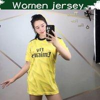 venda de uniformes de meninas venda por atacado-Mulheres Jersey 2020 Artilheiro Longe Amarelo Futebol 2019 Gunners Lady camisas do futebol 19 20 ARS menina de Futebol Uniformes Vendas