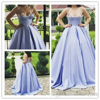 Wholesale prom dresses shops resale online - Ball Gown Beyonce Online Shopping Prom Dresses Long Quinceanera Dresses Satin Plus Size Special Occasion Dresses