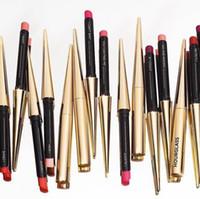 Wholesale slimming tools resale online - Long Lasting Velvet Slim Lipstick Moisturize Waterproof Matte Lipstick Velvet Matte Lipsticks Makeup Tools Colors RRA1194