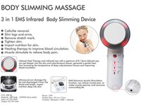 Wholesale 3 in Ultrasound Cavitation EMS Body Slimming Massager Skin Tightening Photon Skin Tender Beauty Machine pc