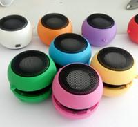 alto-falantes bluetooth de som surround 5.1 venda por atacado-Mini Speaker Portátil bonito Mp3 Music Altifalante Jogador Outdoor 3,5 milímetros Sound Box Moda Speaker Wired for telefones do computador