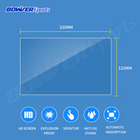Wholesale tablet navigation resale online - 222 MM MM MM Tempered Glass film for quot quot quot inch tablet LCD Car Styling GPS Navigation DVD PDA MP4 Video