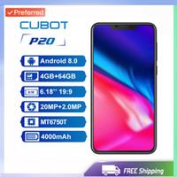 cubot phone venda por atacado-Desbloqueado de fábrica Original Cubot P20 Phone 19: 9 6.18