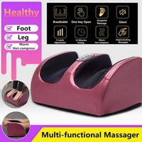 Wholesale legs massager for sale - Group buy HOT V Electric Heating Foot Body Massager Relaxation Kneading Roller Vibrator Machine Reflexology Calf Leg Pain Relief Relax