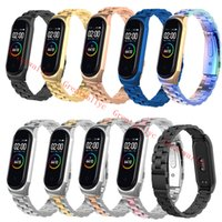 Wholesale metal band wristbands for sale - Group buy 10 Color Metal Strap For Xiaomi Mi Band Screwless Stainless Steel Bracelet Strap For Mi Band Wristband Strap Watch accessory